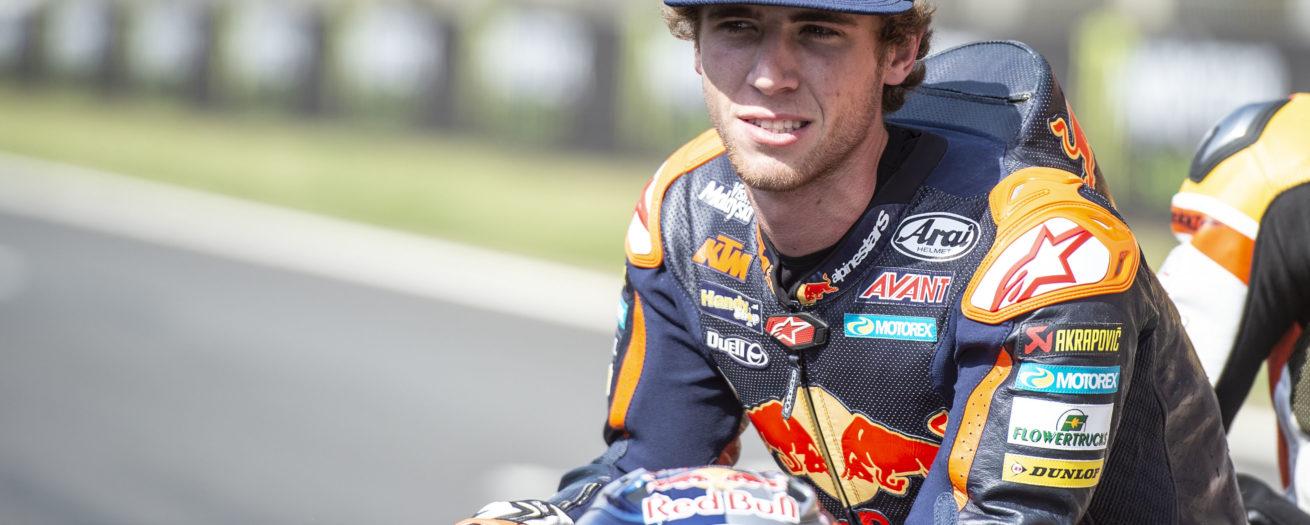 Brad looks ahead to the 2019 season at Red Bull KTM Ajo